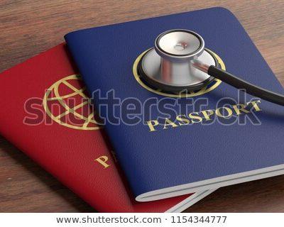 여권 신분증 비자 청진기