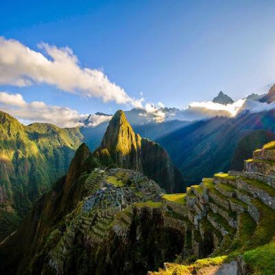 산 산맥 자연 정상 하늘