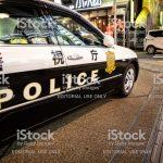 경찰 경찰차 사이렌 일본 경찰관