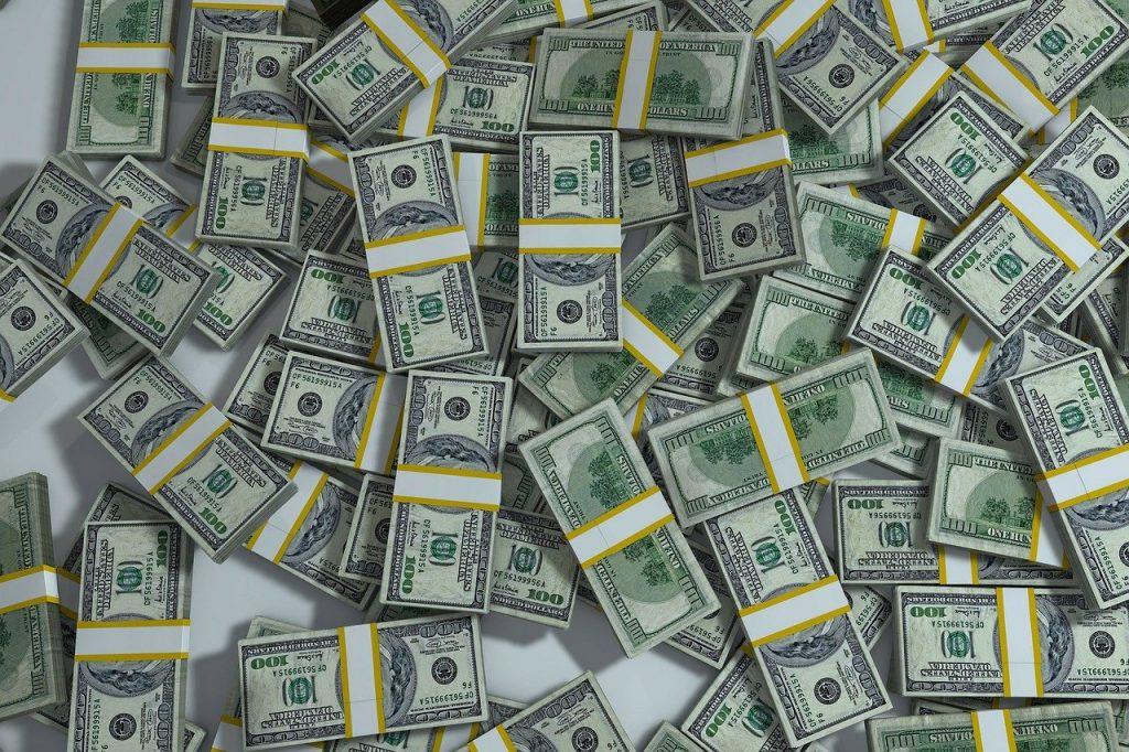 달러 돈 화폐 지폐