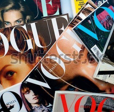 보그 잡지 vogue 패션잡지 모델
