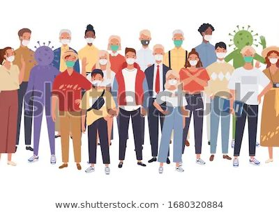 마스크 시민 사람들