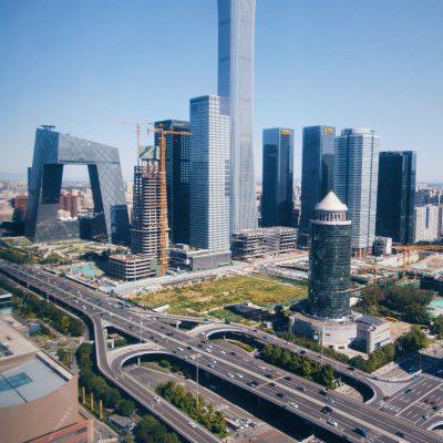 도시 도로 빌딩 고층건물 city