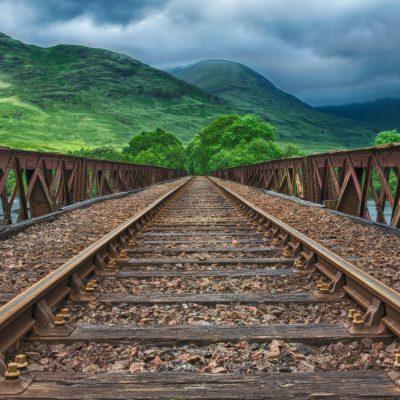 railway 철도 기차길