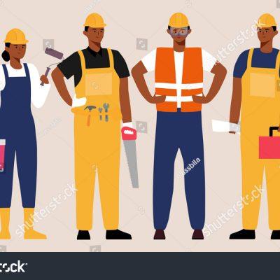 사람, 건설, 노동자