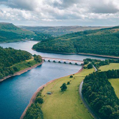 강 다리 계곡 저수지 댐 자연