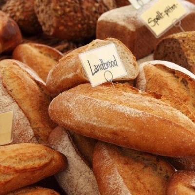 바게트 빵 브런치
