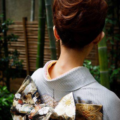 후리소데 성인식 기모노 일본 전통 복식