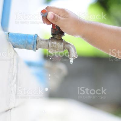 물, 절약, 수도꼭지