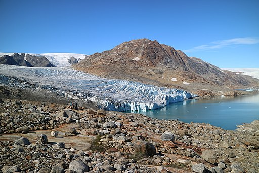 그린란드, 동토, 북극