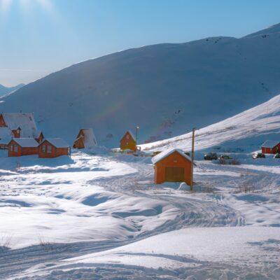 알래스카 집 빙설기후 툰드라 주거