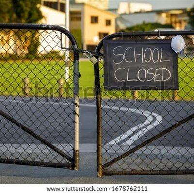 학교폐쇄 봉쇄