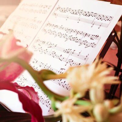 작곡,악보,꽃