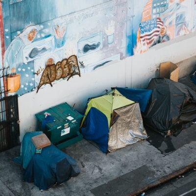 노숙자, 텐트, 홈리스