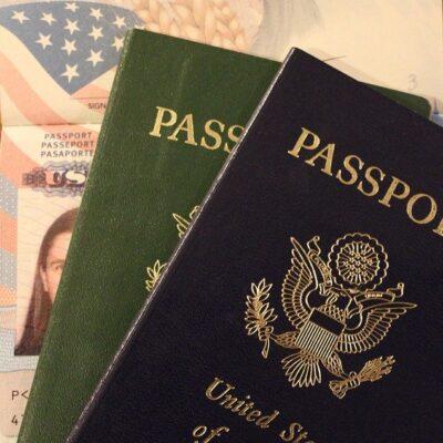 미국 여권 여행