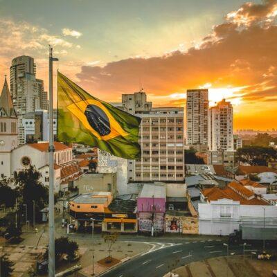 브라질, 남미, 석양