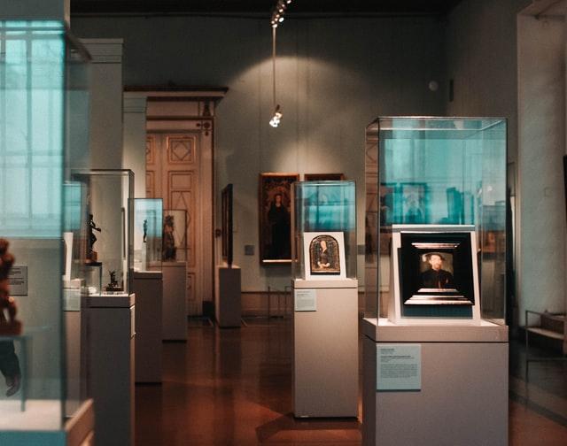 박물관 전통 전시