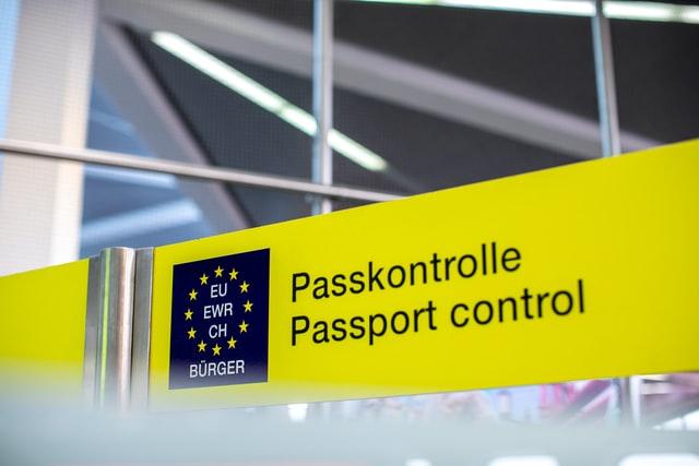 공항, 입국, 유럽, 유럽연합