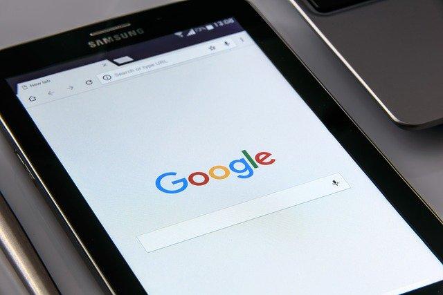구글 기업 웹사이트