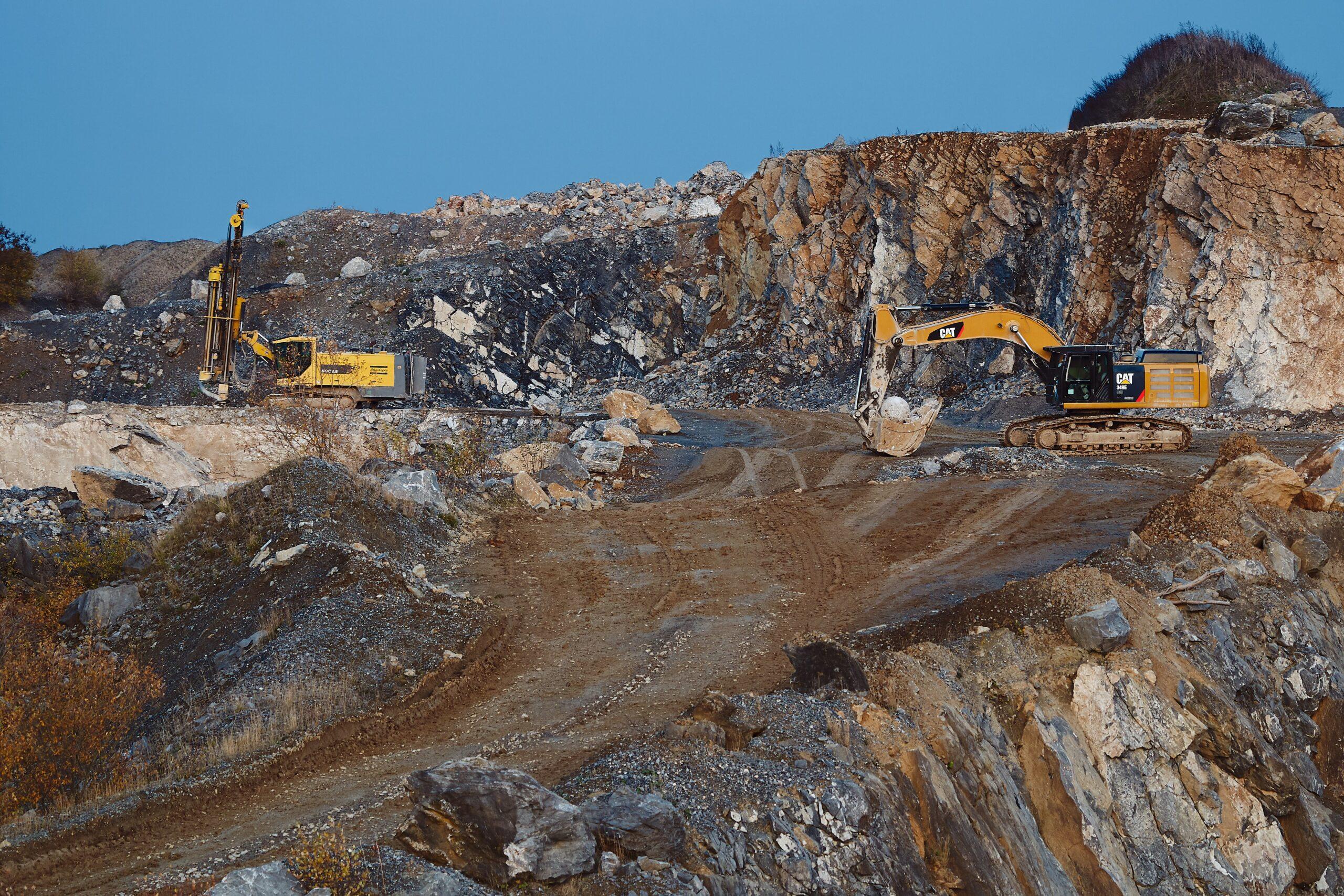 구리 채광 광산업 칠레
