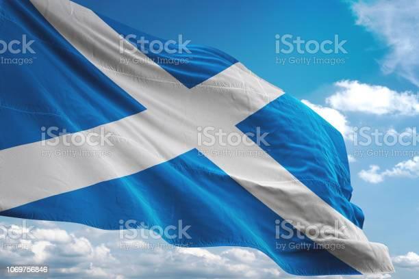 스코틀랜드, 국기
