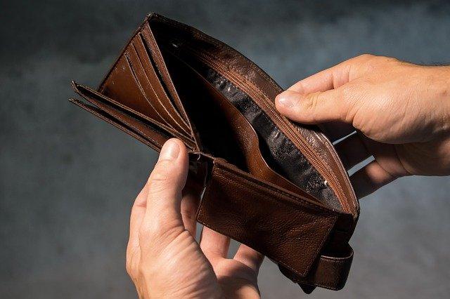 돈 빚 지갑