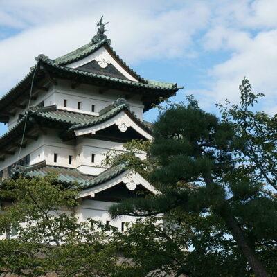 히로사키 성, 일본 성, 아오모리