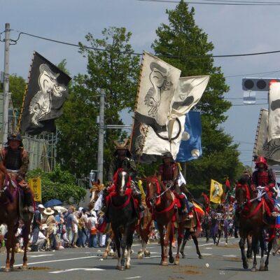 소마노마오이, 기마행렬, 일본축제