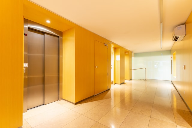 엘리베이터, 호텔, 승강기
