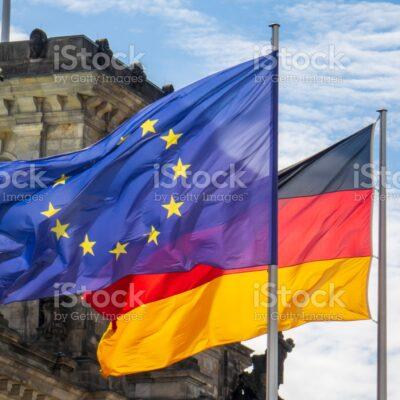 독일 EU 국기