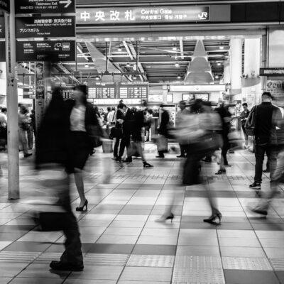 지하철, 역내, 로비, 매표소