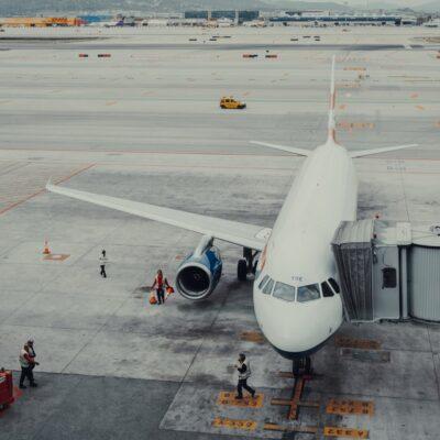 바르셀로나 공항 비행기