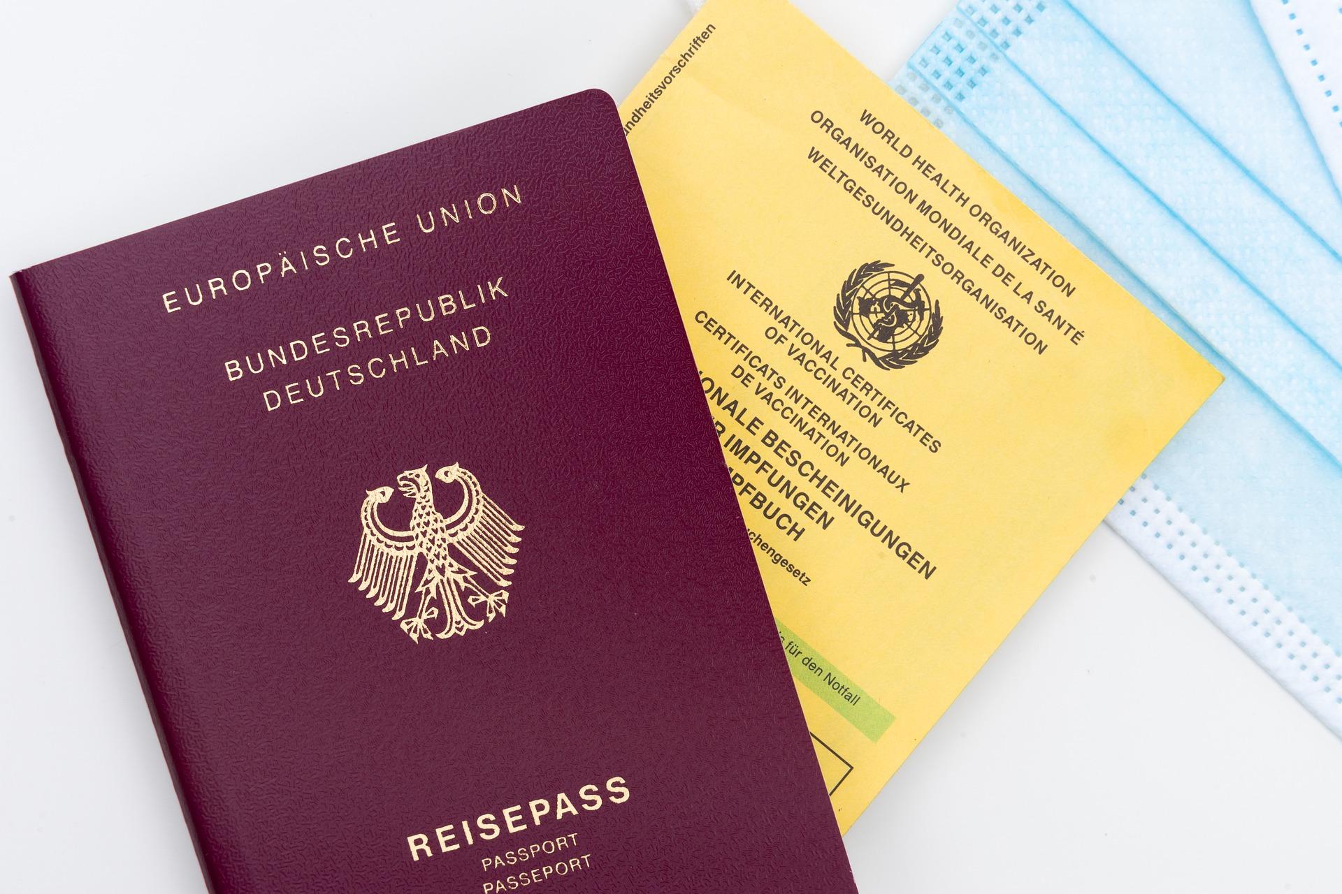 여권 백신 여권 코로나 여권