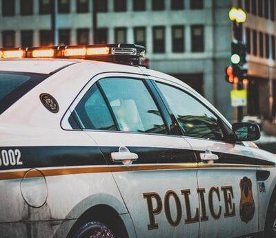 경찰, 경찰차